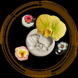Молди силіконові квіти