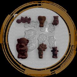 Пластикові форми для шоколаду