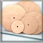 Підкладки для торта з отвором для осі фанера 10 мм