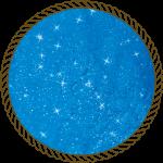 Блискітки диско блакитні