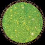 Блискітки диско зелені