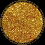 Блискітки диско золото