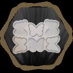 Молди брязкольце метелик