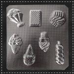 Пластикова форма для шоколаду десерти