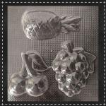 Пластикова форма для шоколаду фрукти №2