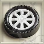 Пластикова форма для шоколаду колесо