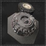 Пластикова форма для шоколаду колесо №2