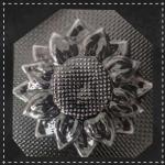 Пластикова форма для шоколаду соняшник