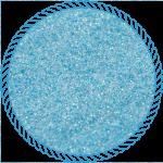 Блискітки голографічні блакитні