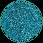 Блискітки голографічні бірюза