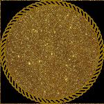 Блискітки голографічні золоті