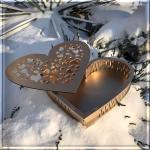 Коробка серце