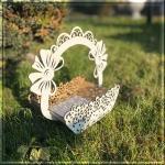 Кошик для квітів бантик