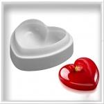 Силіконова форма серце 500 мл
