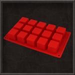 Силіконова форма куб 5см